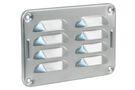 STARX Schoepenrooster Aluminium Blank 130x90mm