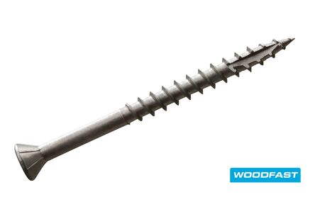 woodfast hardhoutschroef torx t25 5,0x50mm rvs 200st