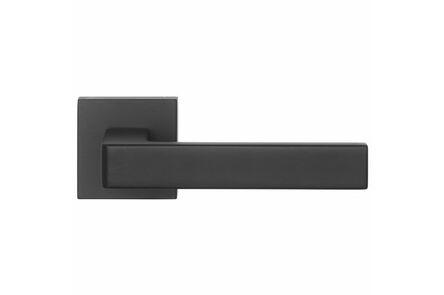 skantrae deurkruk vierkant rozet cubistic zamac mat zwart