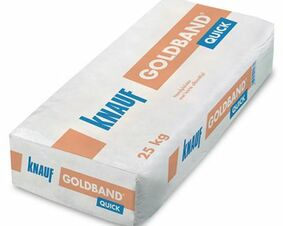 knauf goudband pleistergips quick zak 25kg