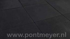 rubbertegel zwart 25x500x500