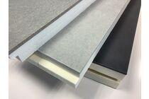 fermi geïsoleerde kantplank rd 1,50 1200x300x50+10mm
