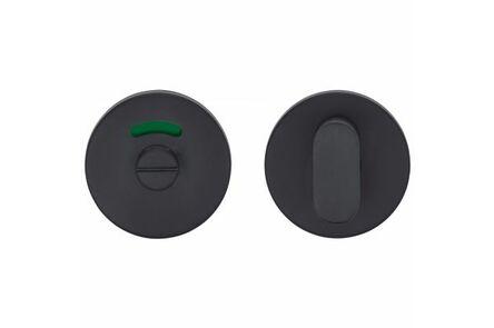 skantrae toiletgarnituur rond pavo rvs mat zwart