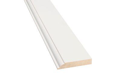 Plint Luxe QP14 Q-Pine Grenen wit Afgelakt FSC 18x90x4800mm