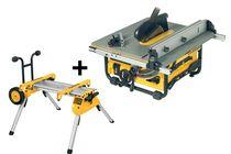 dewalt tafelzaag dw745rs-qs 250mm 1700w met rolbaar onderstel de7400-xj