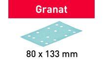 festool granat schuurstrook p80 80x133 50st