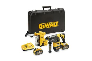 DEWALT DCH335X2-QW XR Flexvolt Combihamer SDS-Plus 54V 2x 9,0Ah