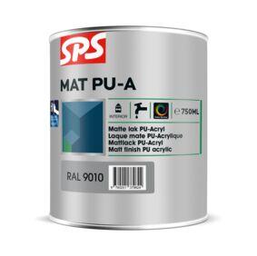 sps pu-acryl lakverf acryl basis zijdeglans 9010