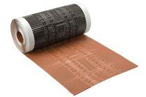 ubbink airtec aluminium hoekkeperband terracotta 5000x300mm