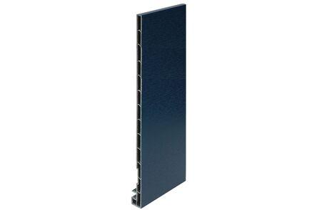 keralit dakrandpaneel 2831 classic staalblauw 5011 300x20x10 6000mm