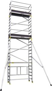 minimax rol/vouwsteigerset xl 2in1 570/770cm (set d)