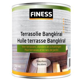 finess terrasolie bankirai buiten kleurloos 750ml