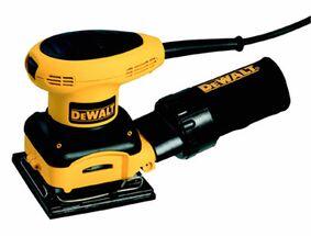 dewalt handpalmvlakschuurmachine d26441-qs 230w