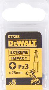 dewalt impact 50mm pz3 dt7392-qz (set van 5 stuks)