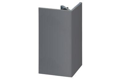 KERALIT 2812 Uitwendig Rechthoekprofiel Dustgrey Pure 46x46x4000mm