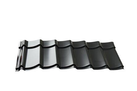 dakpanplaat tbv 600cm kapschuur zwart 6000x3000