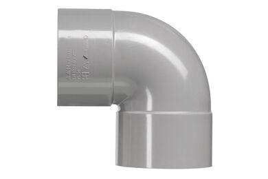 MARTENS PVC Bocht 2x Lijmmof 90° 50mm
