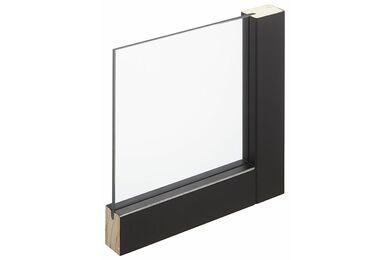 SKANTRAE SSL 4025 Blank Glas Stompe Deur FSC 830x2115mm