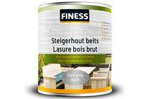 finess steigerhoutbeits binnen/buiten dark grey-wash 750ml
