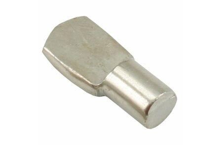 sx kastplankdrager huls 7mm vernikkeld 1(set van 12 stuks)