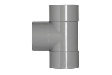 MARTENS PVC T-stuk 3x Lijmmof Dik Wandig 90° 110x110x110mm