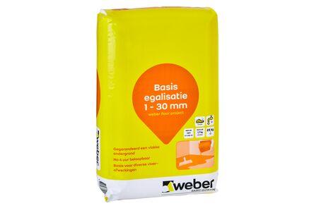 weber.floor project basis egalisatie 1-30mm