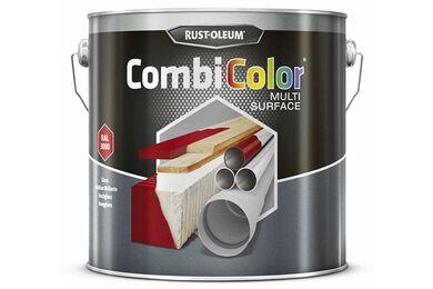 RUSTOLEUM Combi Color Multi Surface Wit RAL9010 2,5Ltr