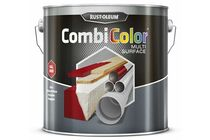 RUSTOLEUM Combi Color Multi Surface Mat Zwart 2,5Ltr