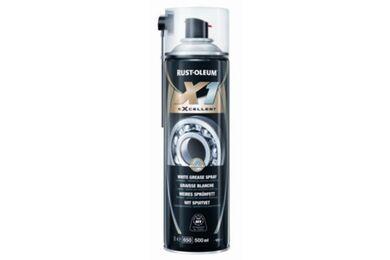 RUSTOLEUM X1 eXcellent Techspray Spuitvet Wit Spuitbus 500ml