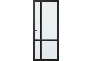 SKANTRAE SSL 4029 Blank Glas Opdekdeur Links FSC 730x2015mm