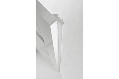 SKANTRAE Aanslaglat T.B.V. Prestige draaideur Wit 14x45x2500mm