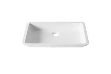 Krion Solid Surface Spoelbak D801 E Snow White 520x320x100mm