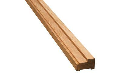 Hardhout Kozijnprofiel Stijl AA FSC 67x114x3650mm
