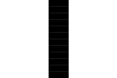 Fibo-Trespo Wandpaneel M6015 2124 HG NewYork Black 2400x620x11mm