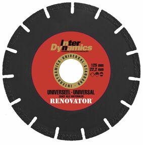 inter dynamics diamantzaagblad renovator universeel 125mm