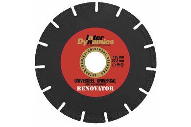 INTERDYNAMICS Diamantblad Renovator 125mm