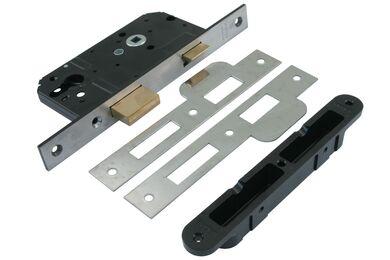 NEMEF Cilinderslot Met Sluitkom Links/Rechts Type 4139 174x25mm