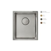 Krion Solid Surface Spoelbak SC806 E RVS Satin 340x400x212mm