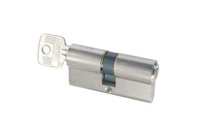 STARX Cilinder Gelijksluitend Vernikkeld 61mm SKG2