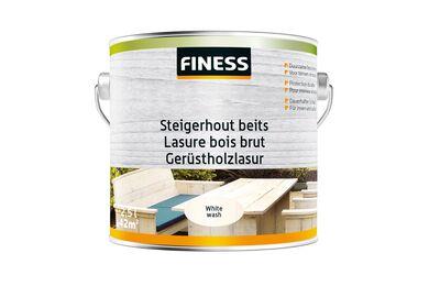 FINESS Steigerhoutbeits White-wash Binnen/Buiten 2,5l