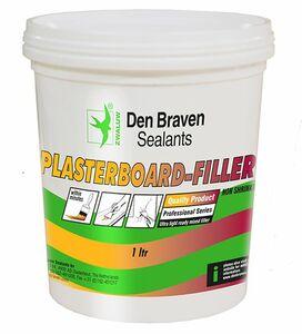 zwaluw plasterboardfiller wit emmer 1ltr