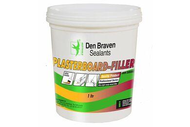 DEN BRAVEN Plasterboard-Filler Wit 1Ltr