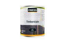 finess timberstain houtbeits zwart 750ml