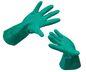 handschoen nitrile chemie groen maat 10