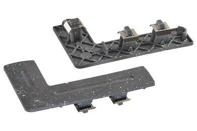 UPM ProFi Deck Hoekafwerking/Traptrede Eindkap Stone Grey 6Li/6Re