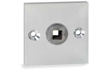 IMPRESSO Rozet Vierkant Schroef Modulair Aluminium