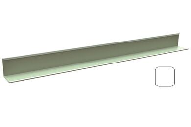 CMC Randprofiel 1420-001 Wit 3050x24x24mm