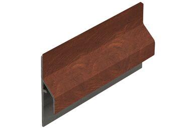 KERALIT 2843 Trim/Kraal Aansluitprofiel 10mm Golden Oak Classic Nerf 6000mm