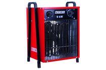 ruimte heater fan max 9kw 380v 800m3/u