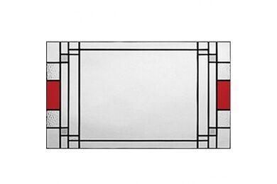 WEEKAMP Glas In Lood 1 Glasset T.B.V. WK6533 En WK6582 880x2015mm